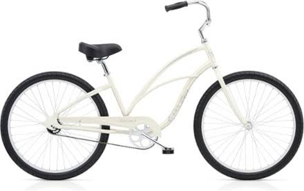 "Electra Cruiser 1 24"" Ladies Pearl-White"