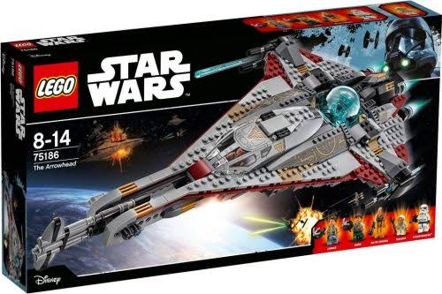 Star Wars The Arrowhead Lego Toy