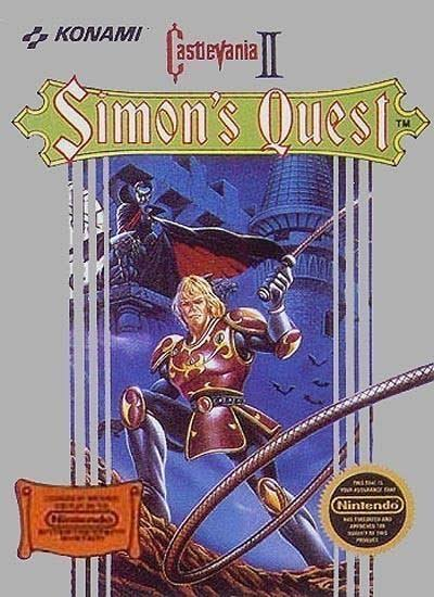 Castlevania II: Simon's Quest [Entertainment System Game]