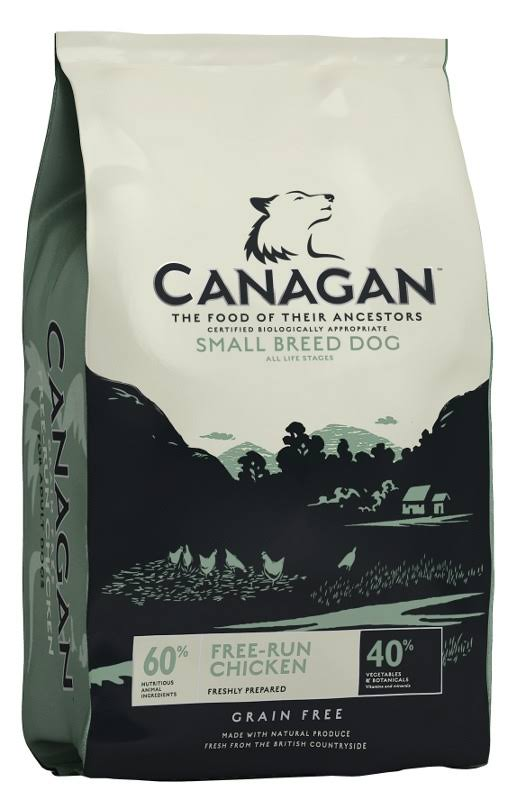 500g Canagan Free Range Chicken Grain Free Small Breed Dog Food