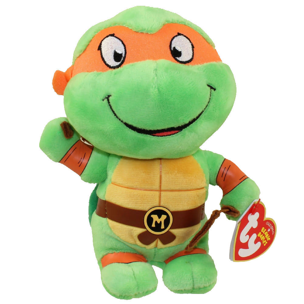 Ty Beanie Babies Teenage Mutant Ninja Turtles - Michelangelo