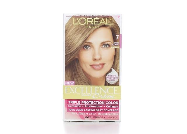 Loreal Paris Excellence Creme Permanent Hair Color - 7 Dark Blonde