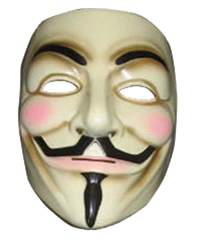 Rubie's V for Vendetta Adult Mask