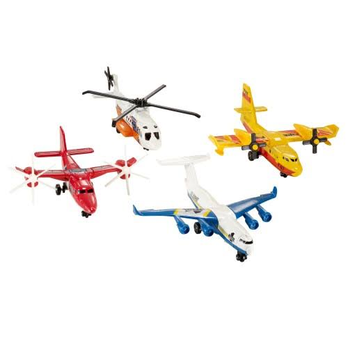 Matchbox Sky Buster Flight Pack - 4 pack