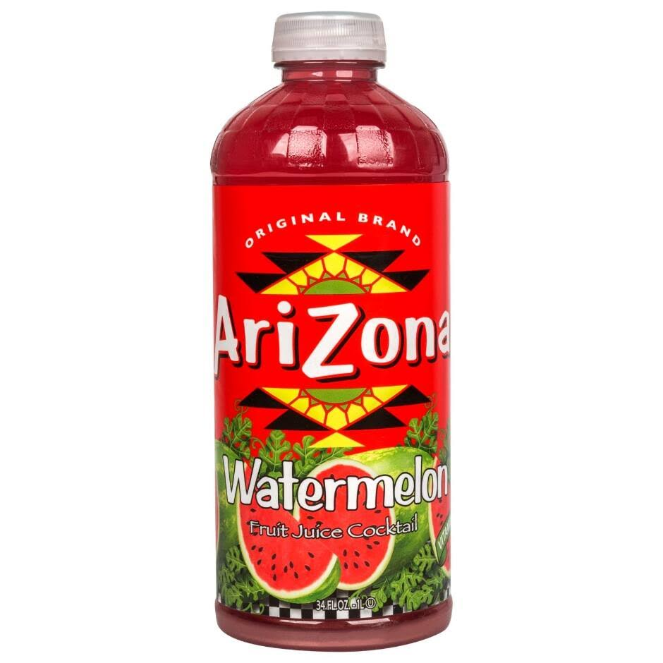 Arizona Fruit Juice Cocktail, Watermelon - 34 fl oz