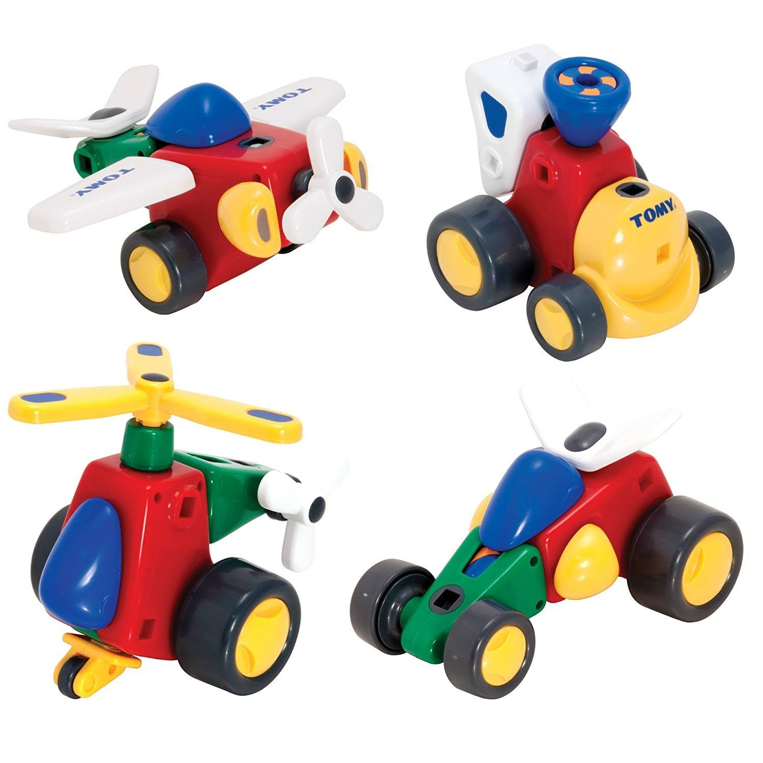 Tomy Constructables Vehicles Building Playset