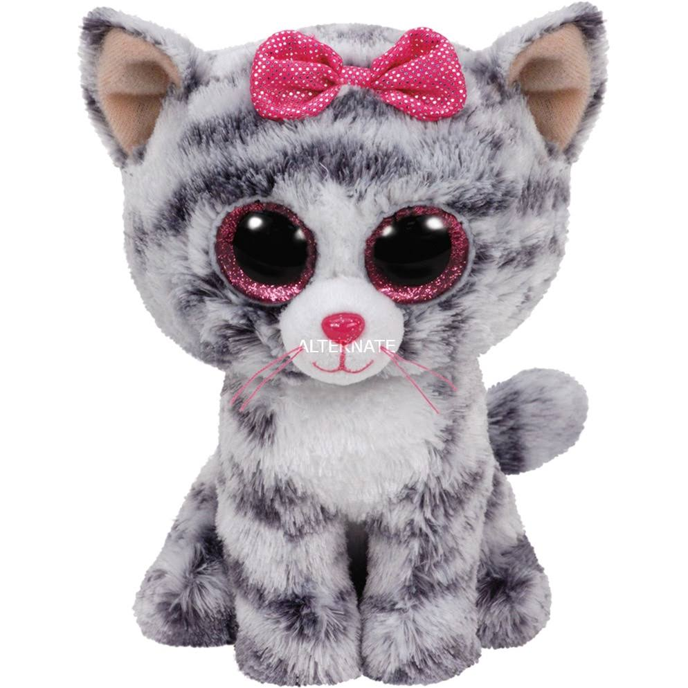 Ty Beanie Boo's Kiki Cat Plush Toy - 15cm