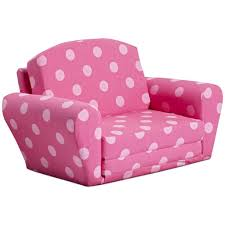 Mickey Mouse Flip Open Sofa Uk by Furniture Cheerful Custom Polka Dot Kids Sofa Design For Girls