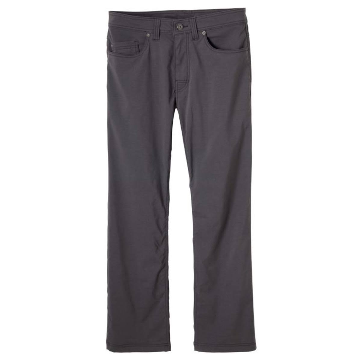 prAna Mens Brion Pants - Charcoal, 32""