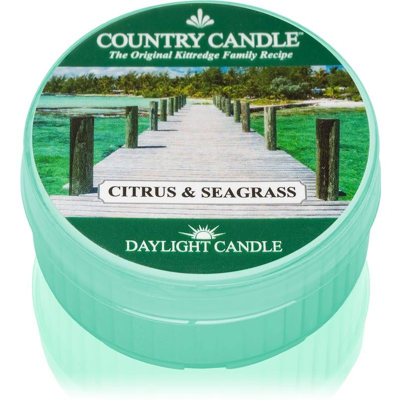 Country Tealight Candle - Citrus & Seagrass, 42g