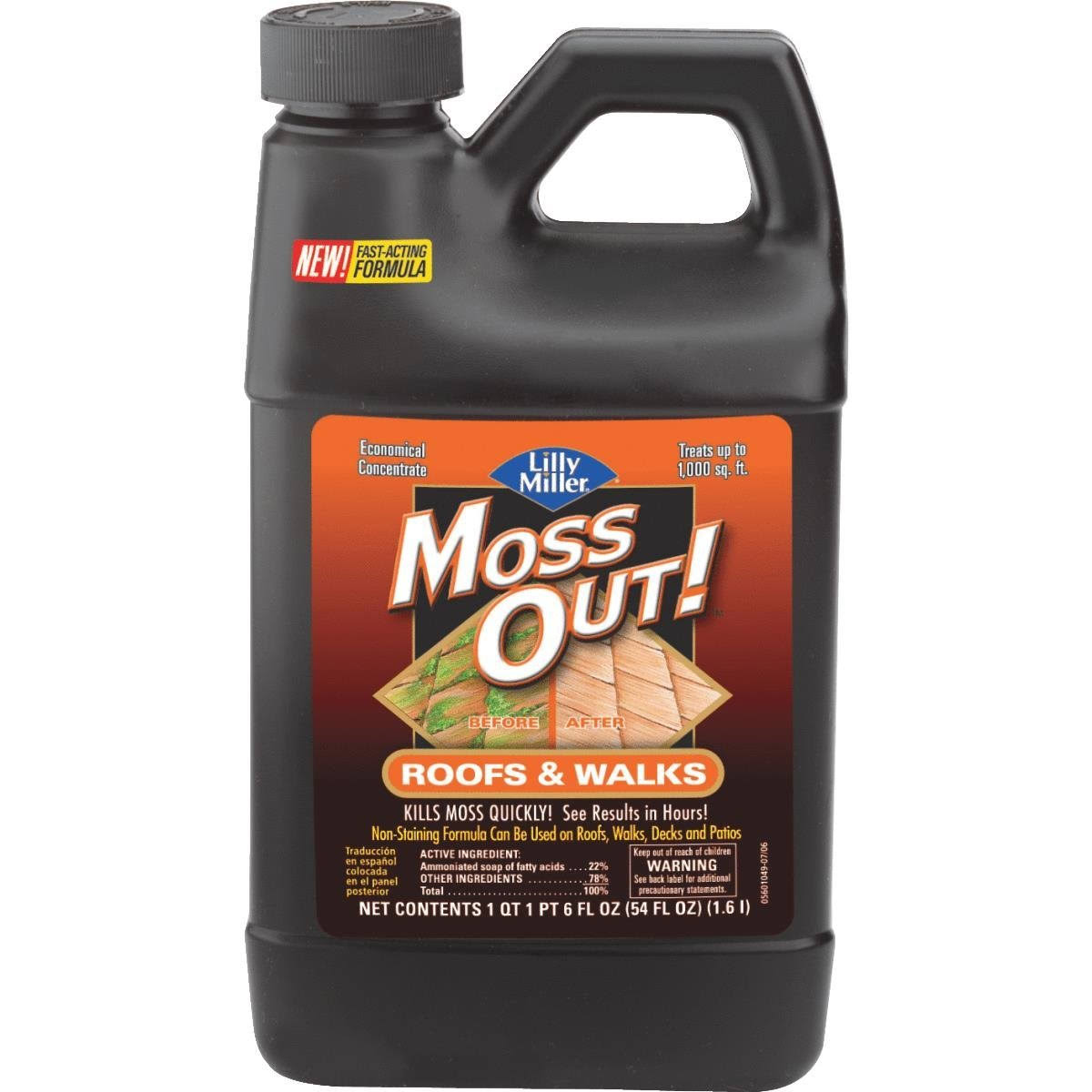Lilly Miller Moss Out Concentrate - for Roofs and Walks
