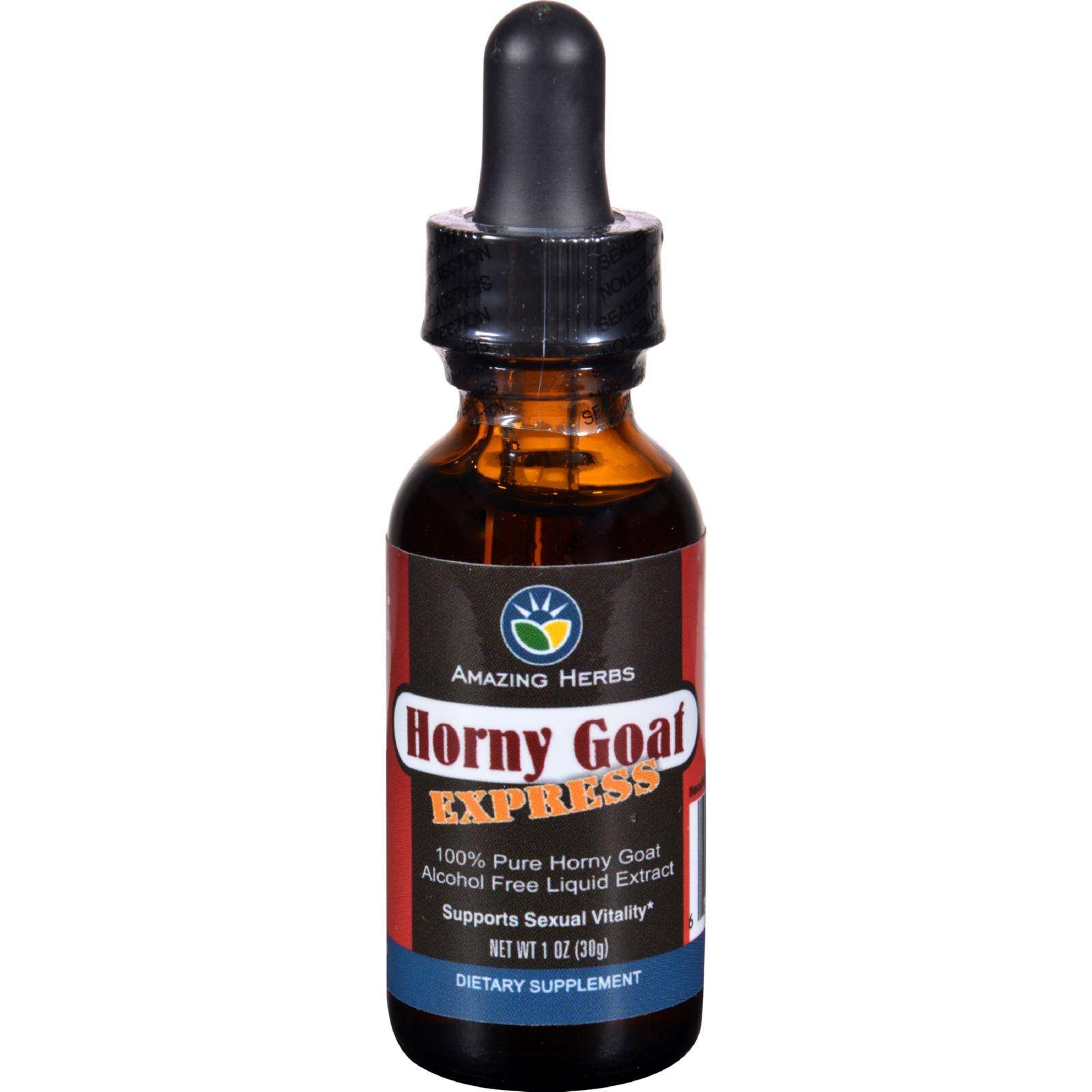 Amazing Herb Horny Goat Express Liquid Extract - 1oz