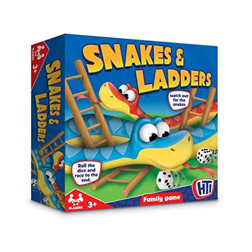 HTI - Snakes& Ladders Family Game