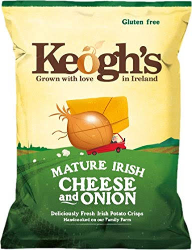 Keoghs Crisps - Mature Irish Cheese & Onion, 50g
