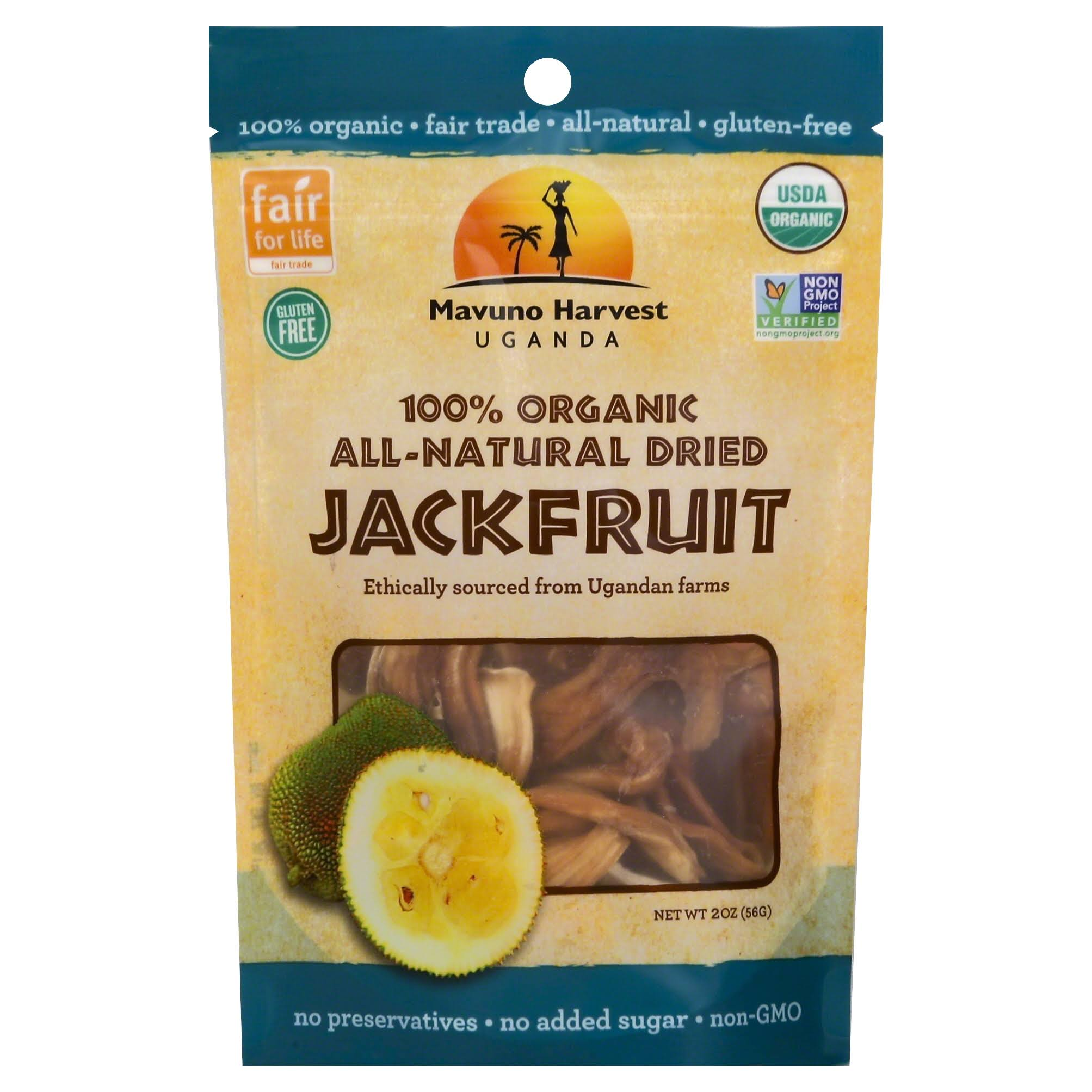 Mavuno Harvest Organic Dried Jackfruit - 2 Oz