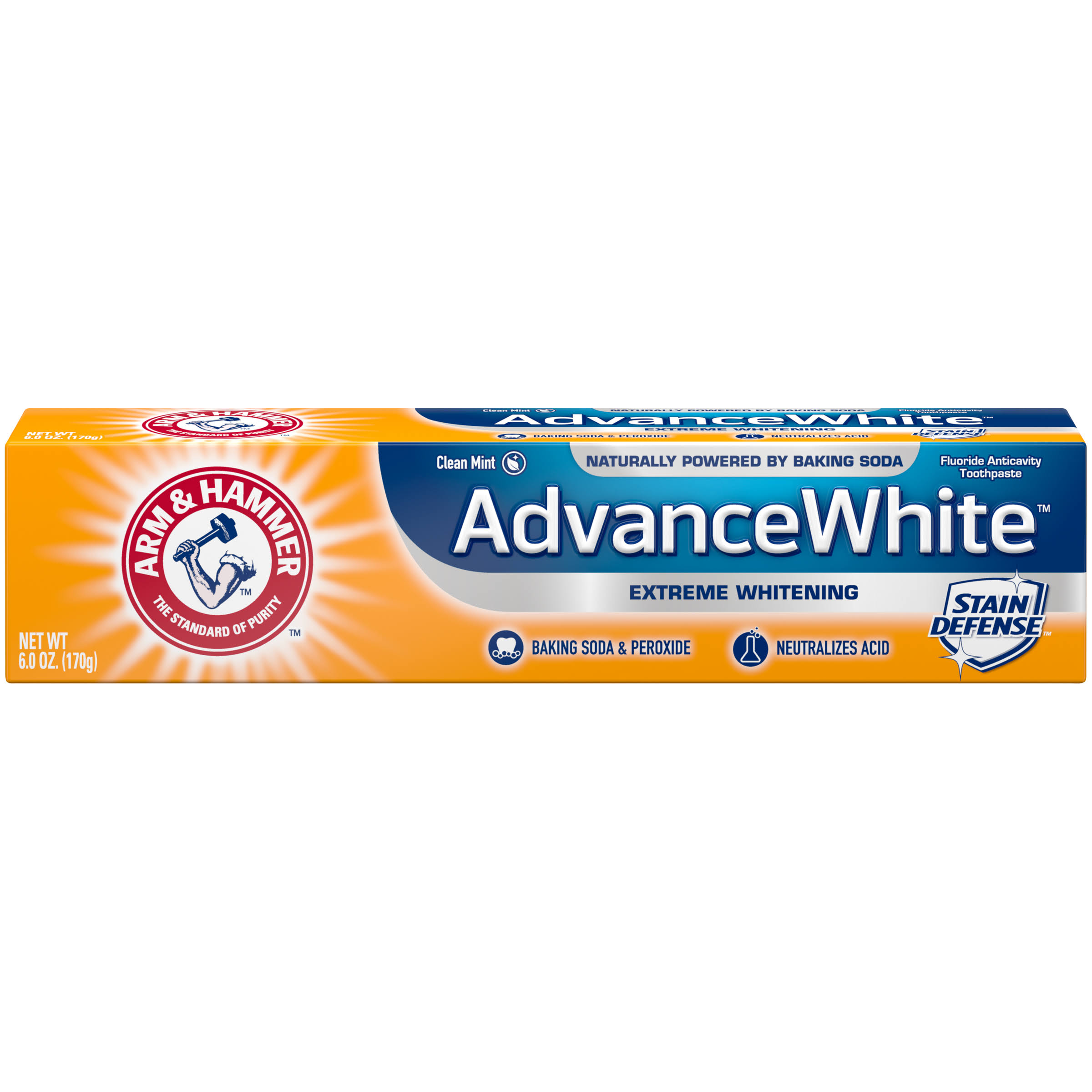Arm & Hammer Advance White Toothpaste - 180ml