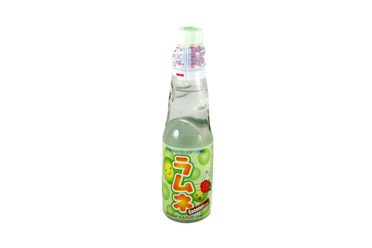 Orchids Soft Drink, Carbonated, Coconut Flavor - 6.6 fl oz