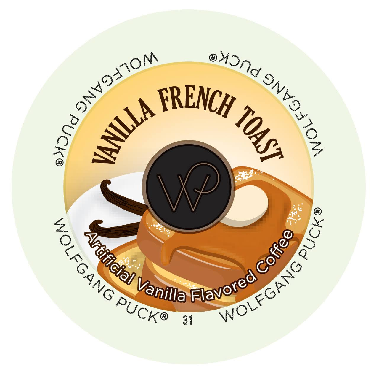 Wolfgang Puck Flavored Coffee Single Serve Cups - Vanilla French Toast, 10ml, 24ct