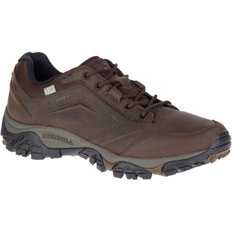 Merrell Men's Moab Adventure Lace Waterproof Hiking Shoes - Dark Earth, 10.5 US