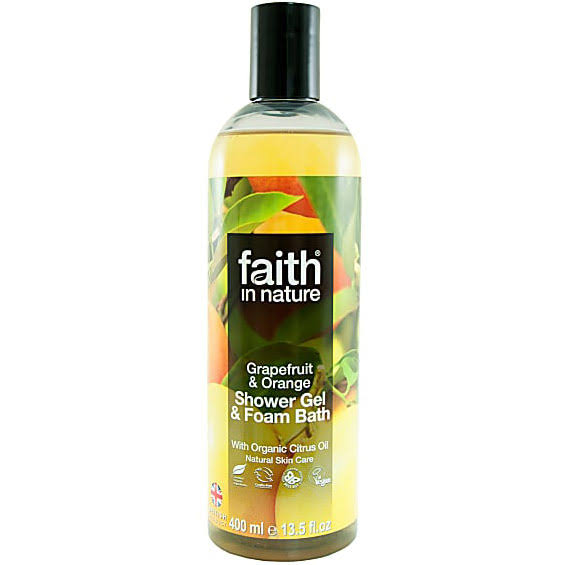 Faith in Nature Body Wash - 400ml, Grapefruit and Orange