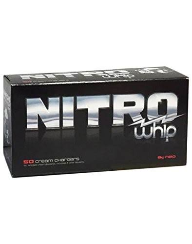 Whip-it! Nitro Cream Chargers - 50pk