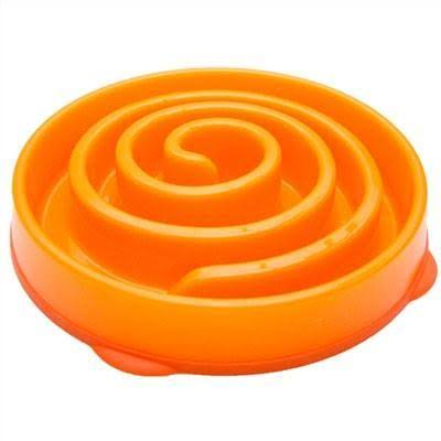 Outward Hound Fun Feeder Mini - Orange