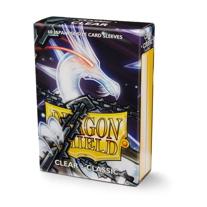Dragon Shield: Classic Clear Card Sleeves - 60ct
