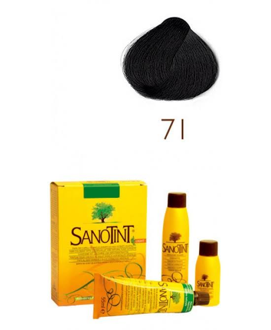 Sanotint Hair Color - Light Black, 125ml