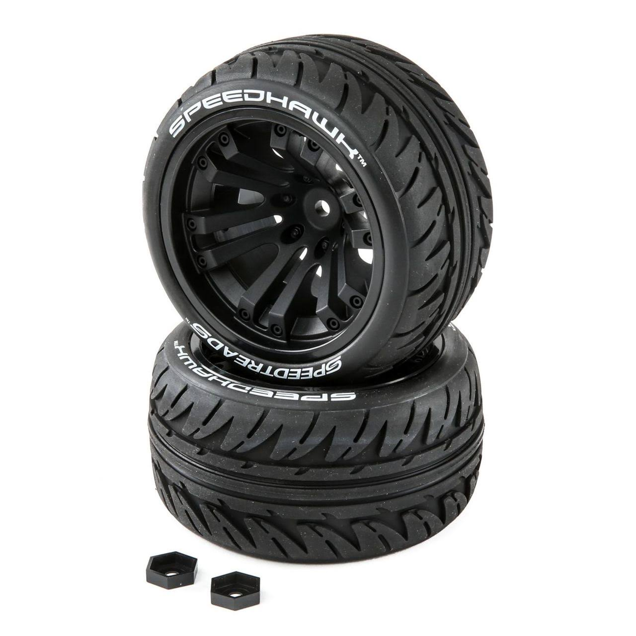 Duratrax DTXC2900 RC Speedtreads Speedhawk Tires - Scale 1:10