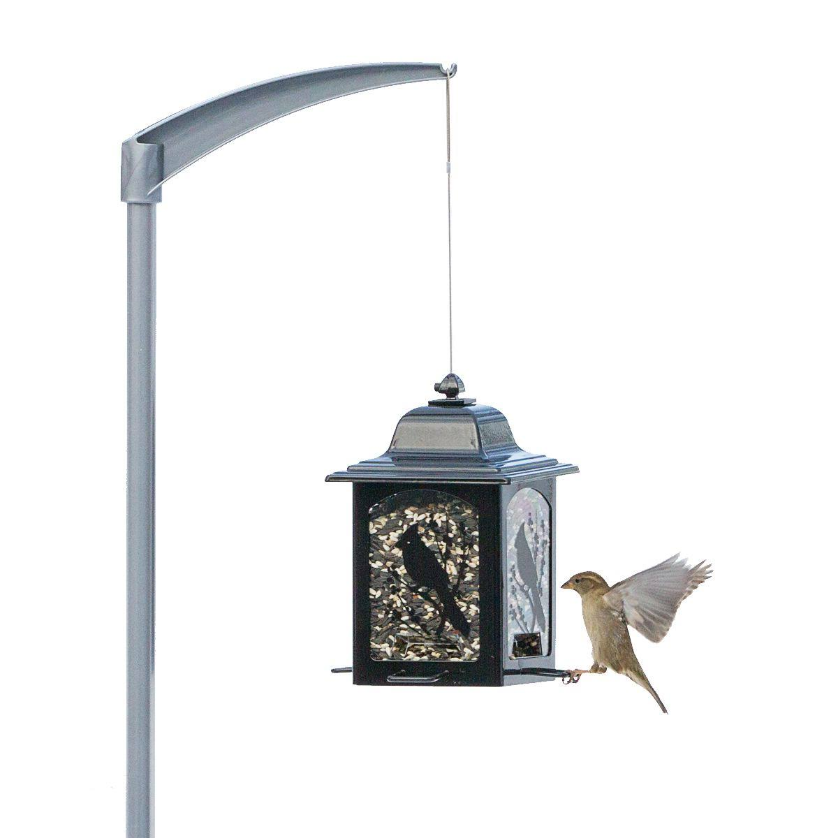 "Perky-Pet 5107-4 Universal Bird Feeder Pole - 84"" H"