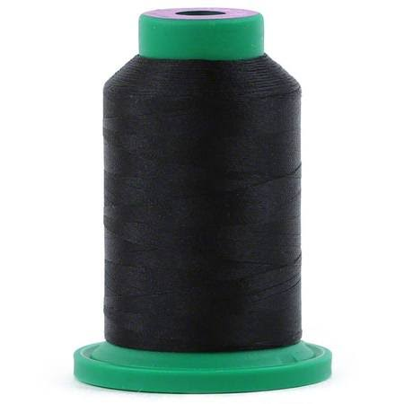 Isacord Polyester Thread, Black 1000M