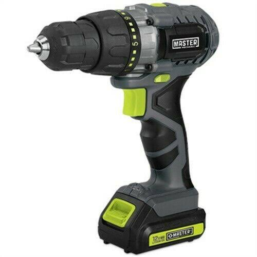 Ningbo Gemay Industry 211891 Cordless Drill, 12-Volt Lithium-Ion, 3/8-In.