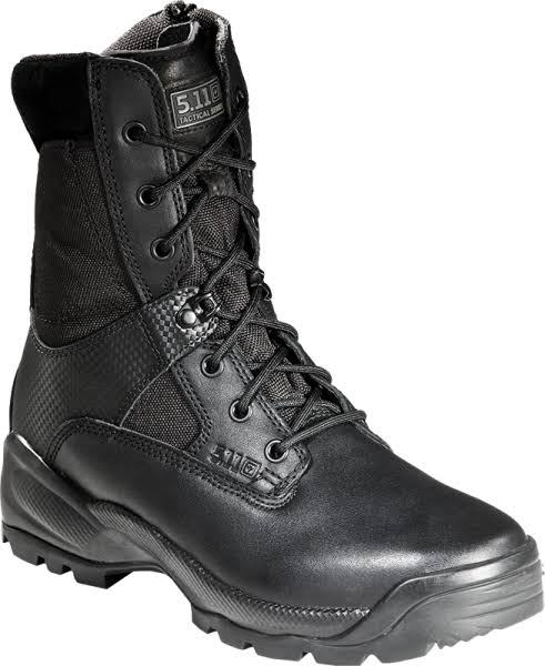 5.11 Men's A.T.A.C. Side Zip Boot - Black,13 M USM, 8""