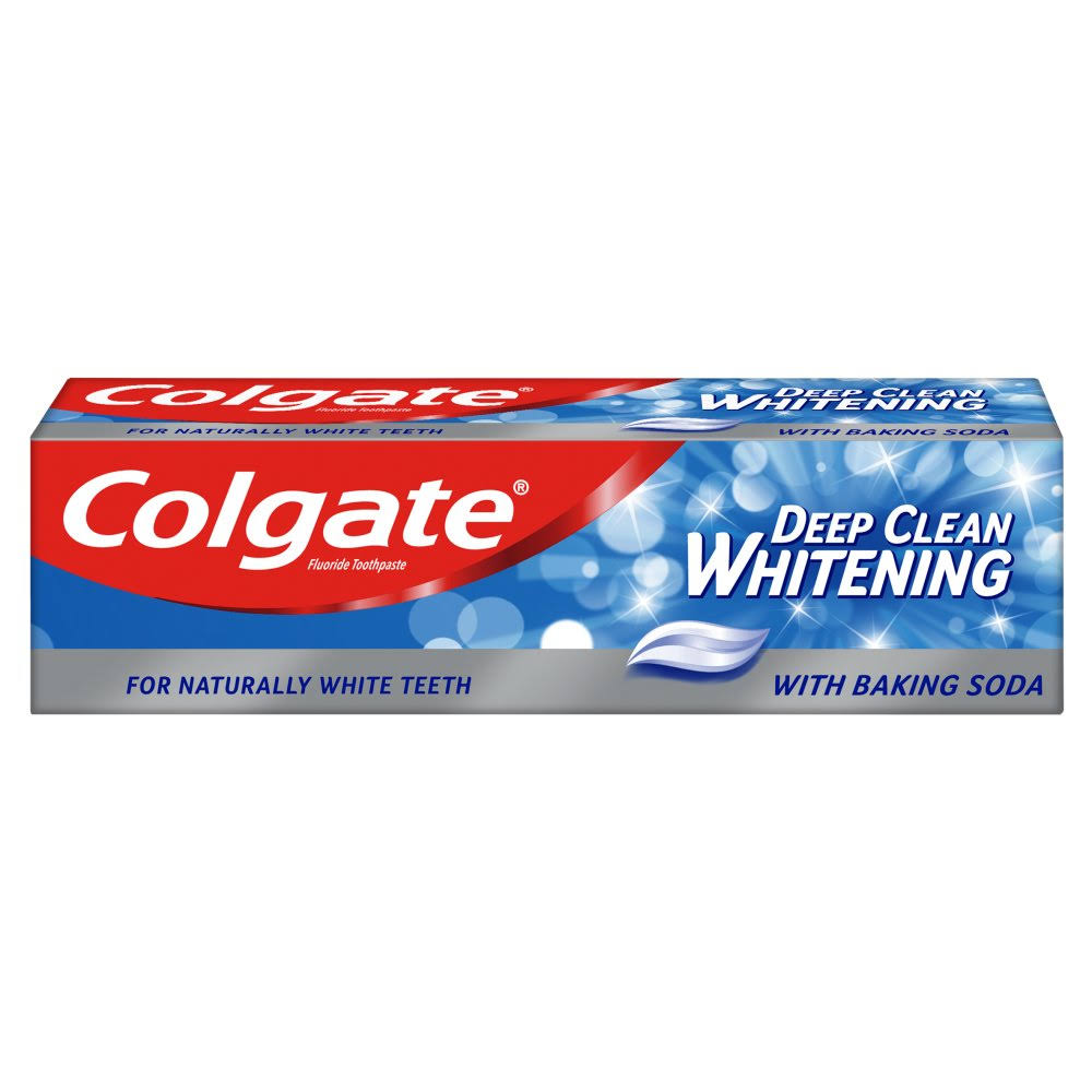 Colgate Deep Clean Whitening Toothpaste with Baking Soda 75ml