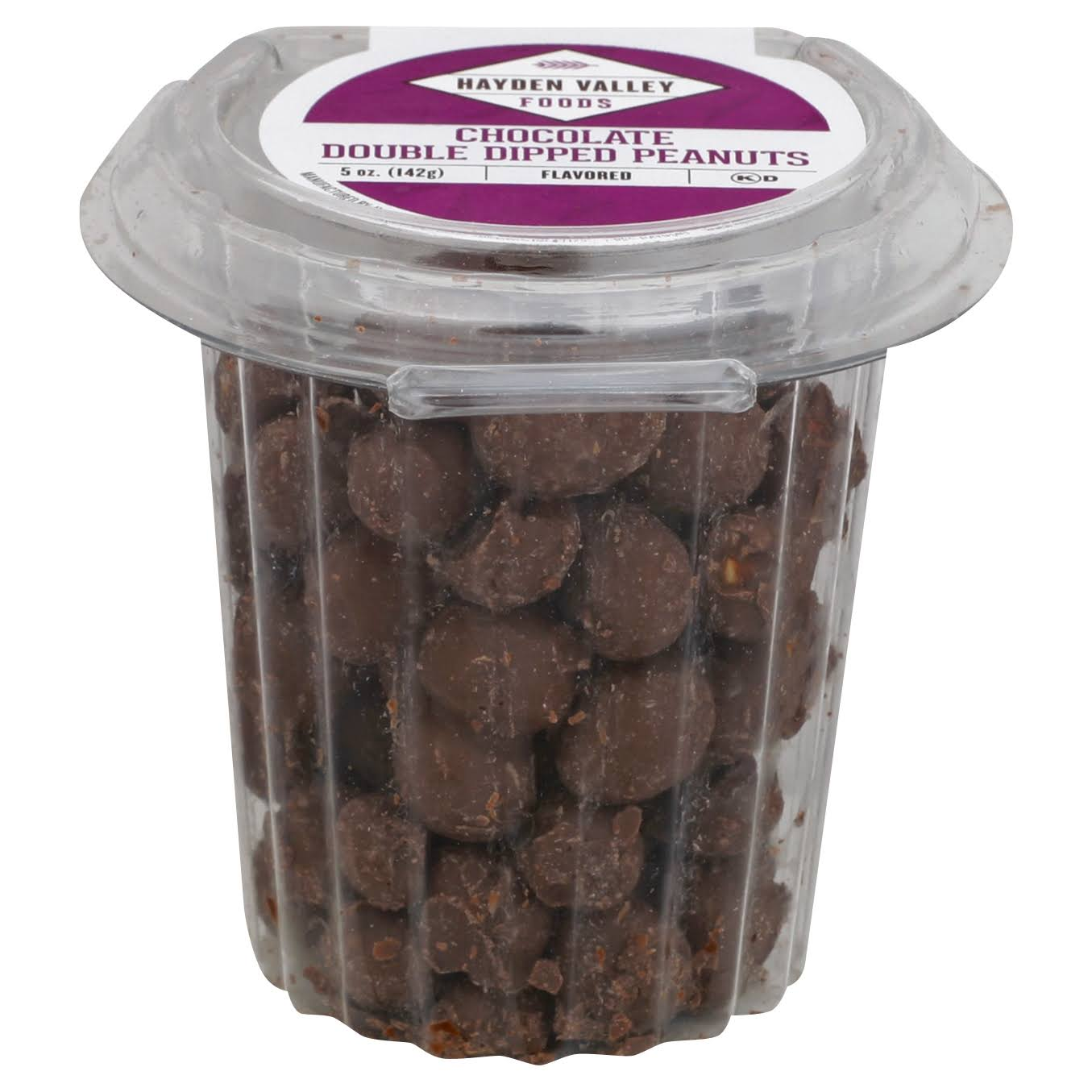 Hayden Valley Peanuts, Chocolate Double Dipped - 5 oz