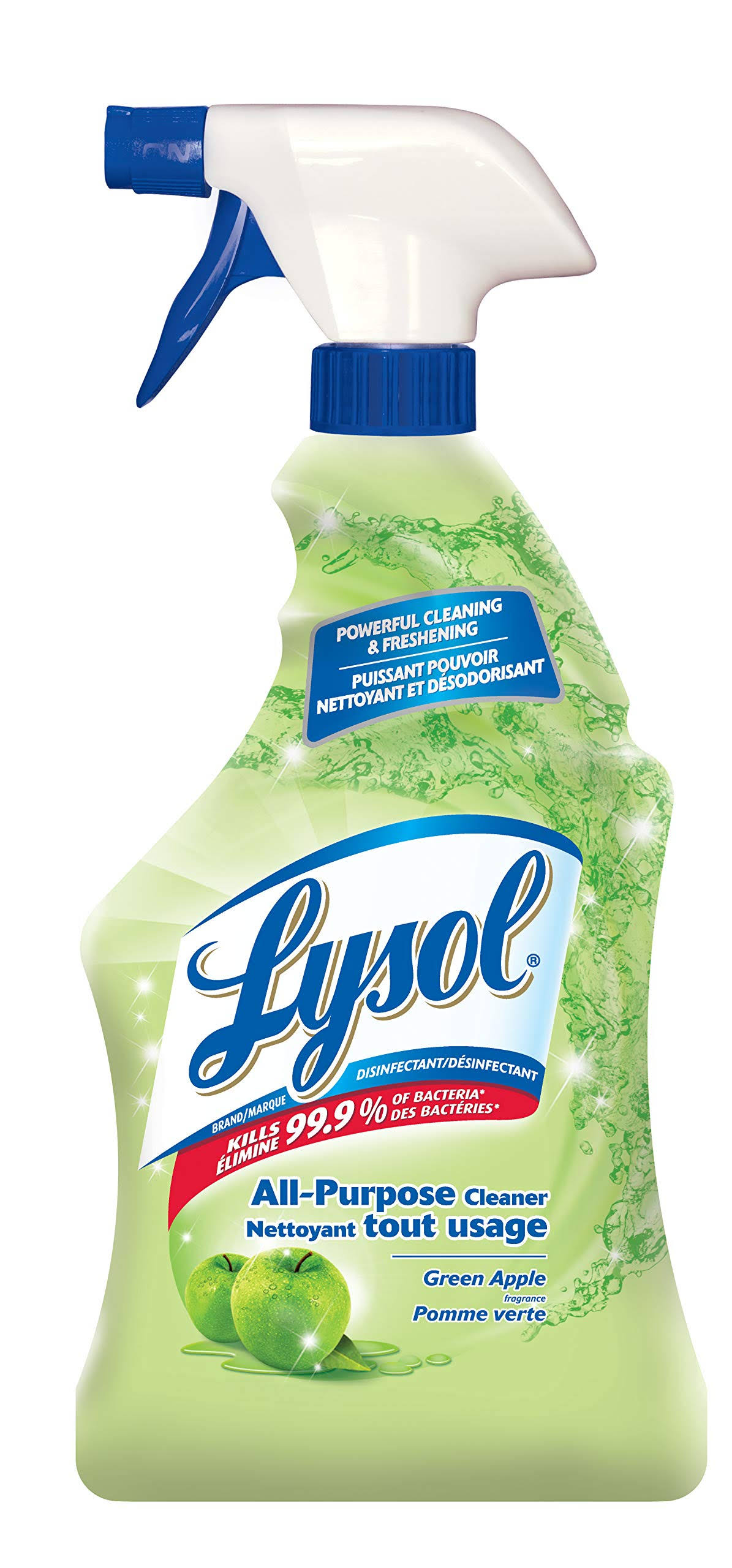 Lysol Complete Clean All-purpose Cleaner - Green Apple, 650ml