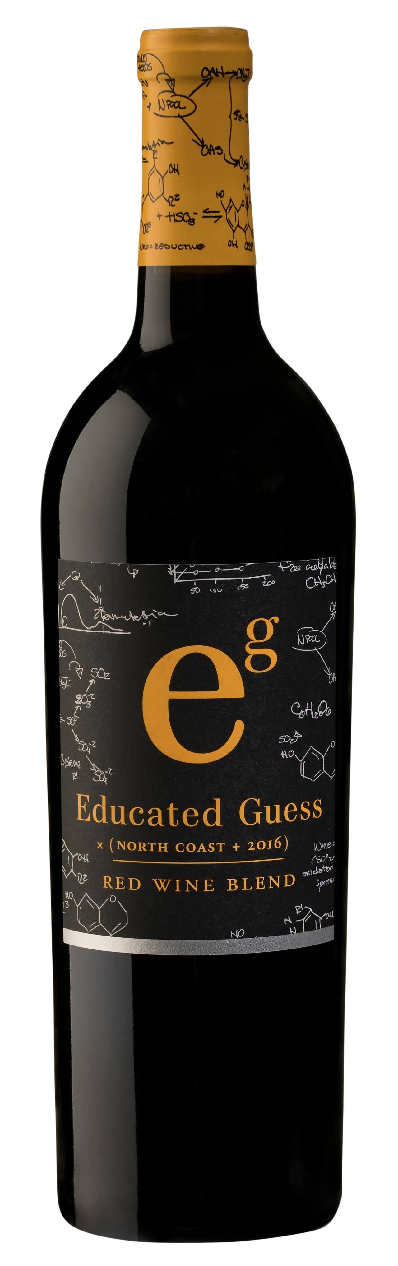 Educated Guess Red Wine Blend, North Coast, 2016 - 750 ml
