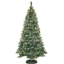 Vickerman Flocked Slim Christmas Tree by Unlit 6 5 U0027 X 62