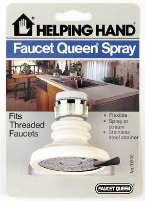 Helping Hand Flexible Faucet Spray