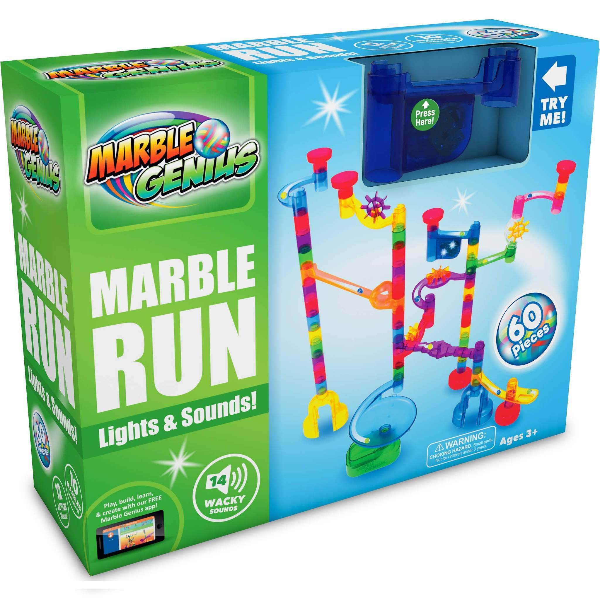 Marble Genius Marble Run Wacky Lights