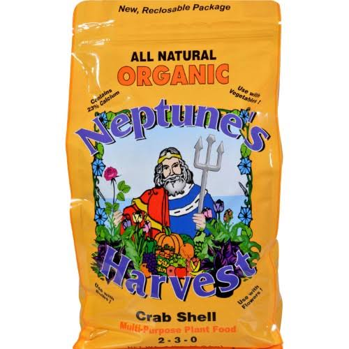 Neptune's Harvest Crab Shell Multi-Purpose Plant Food - 2-3-0, 4lbs