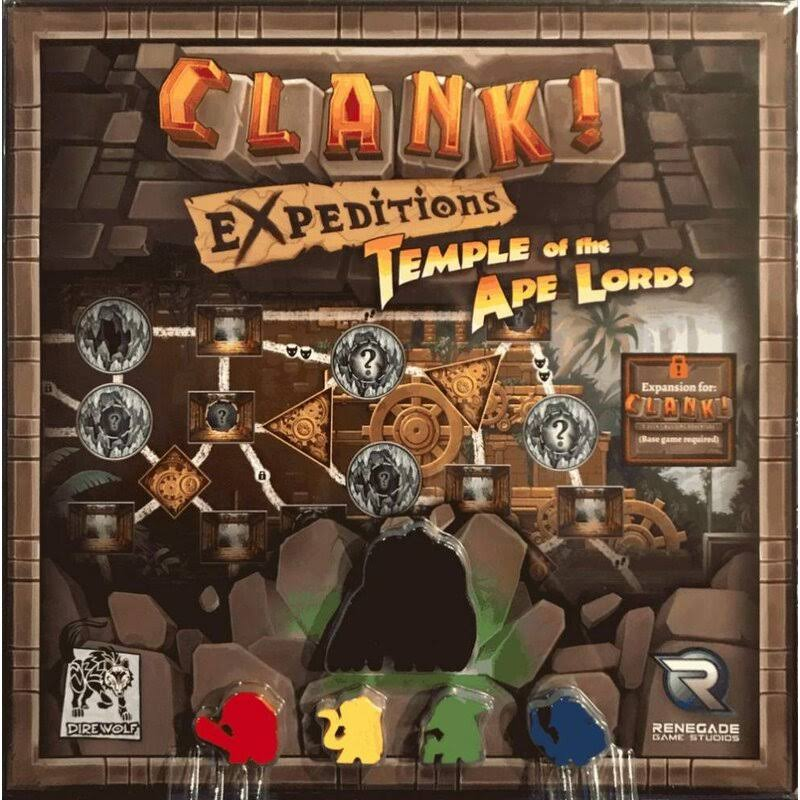 Renegade Studios Ren2044 Clank Expeditions Temple of The Ape Lords Board Game