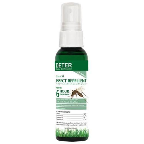 deter Natural Insect Repellent 2-Ounce Pump Spray