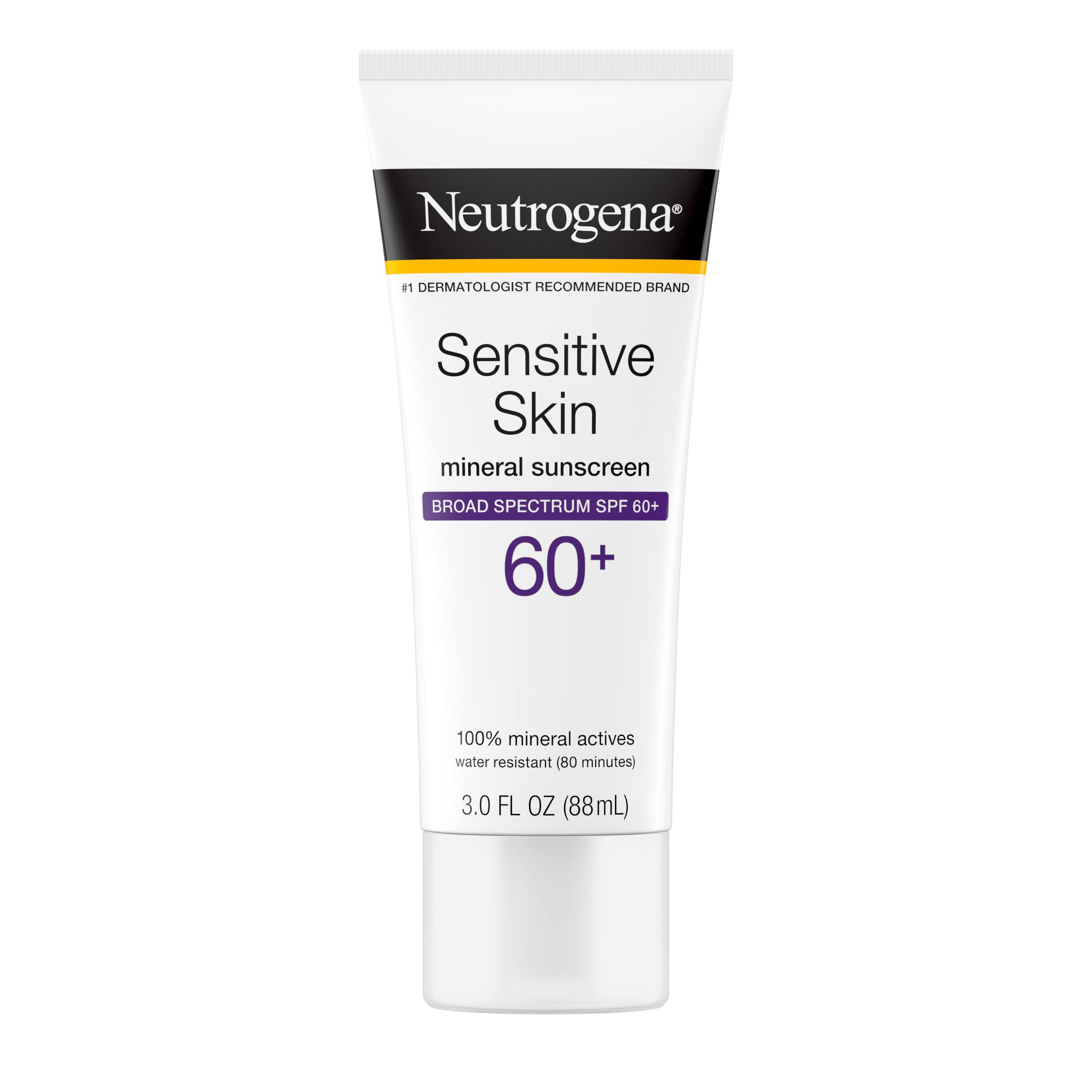 Neutrogena Sensitive Skin Sunscreen Lotion - SPF 60, 3oz