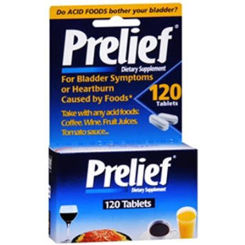 Prelief Acid Reducer Dietary Supplement - 120 Caplets