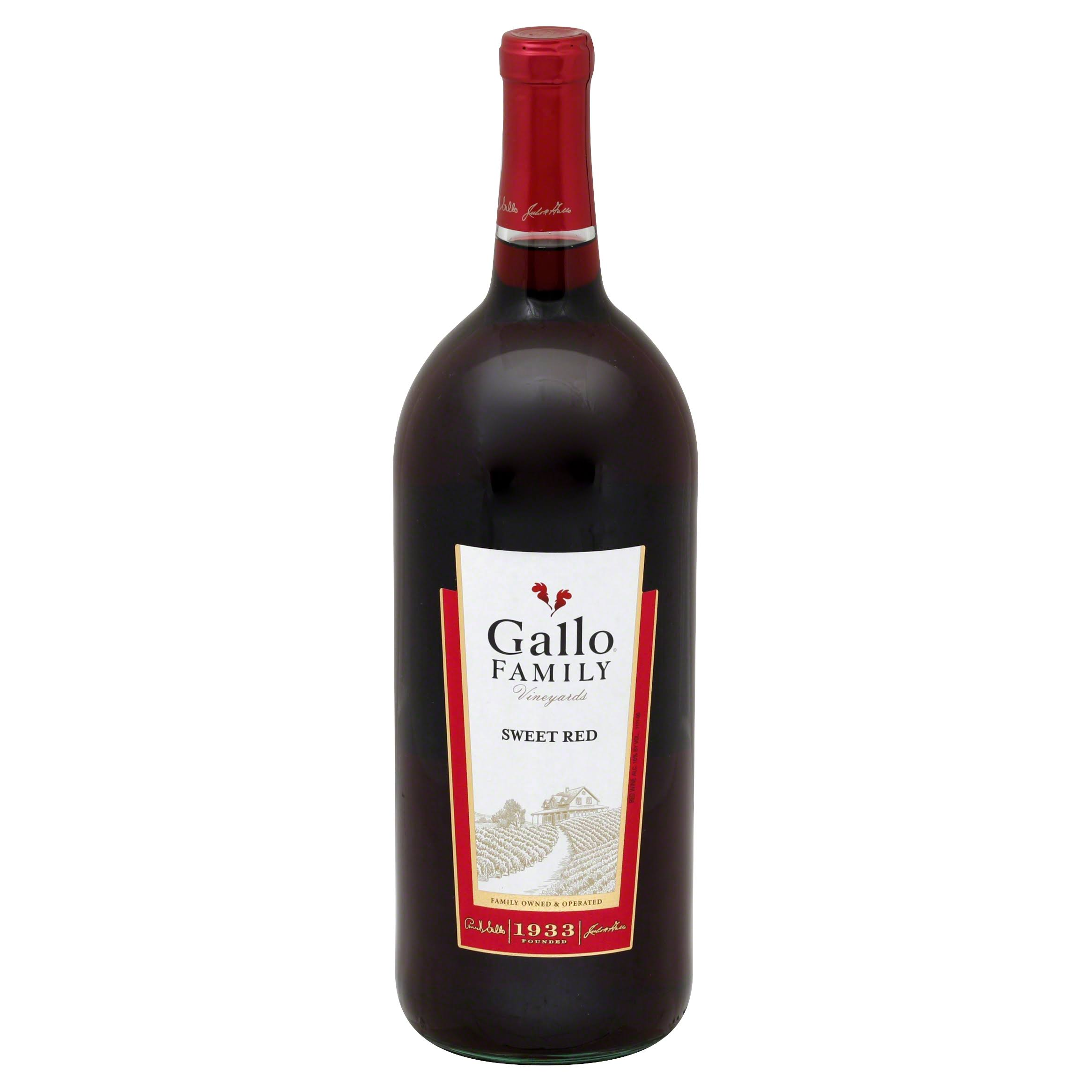 Gallo Family Vineyards Sweet Red Wine - 1.5L