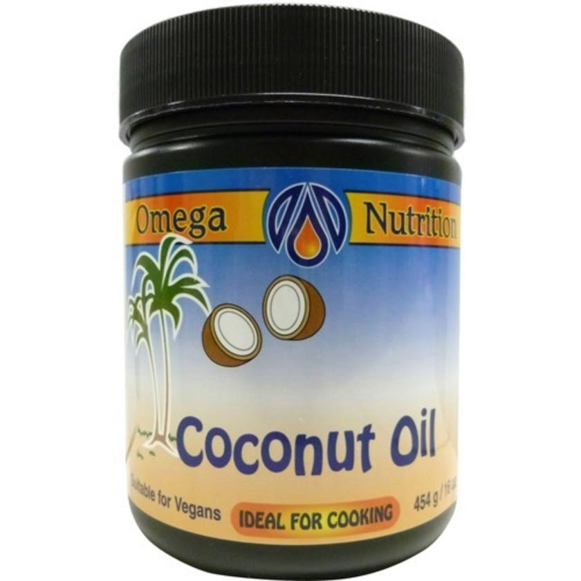 Omega Nutrition Organic Coconut Oil - 454g