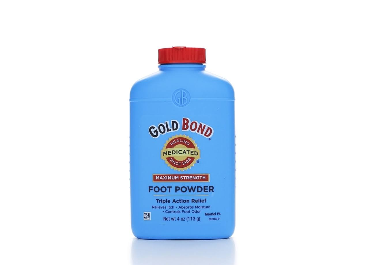 Gold Bond Medicated Foot Powder - 4oz