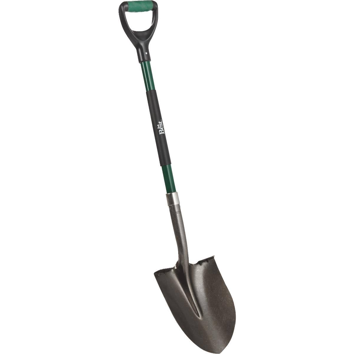 Do it Best Fiberglass D Handle Round Point Shovel