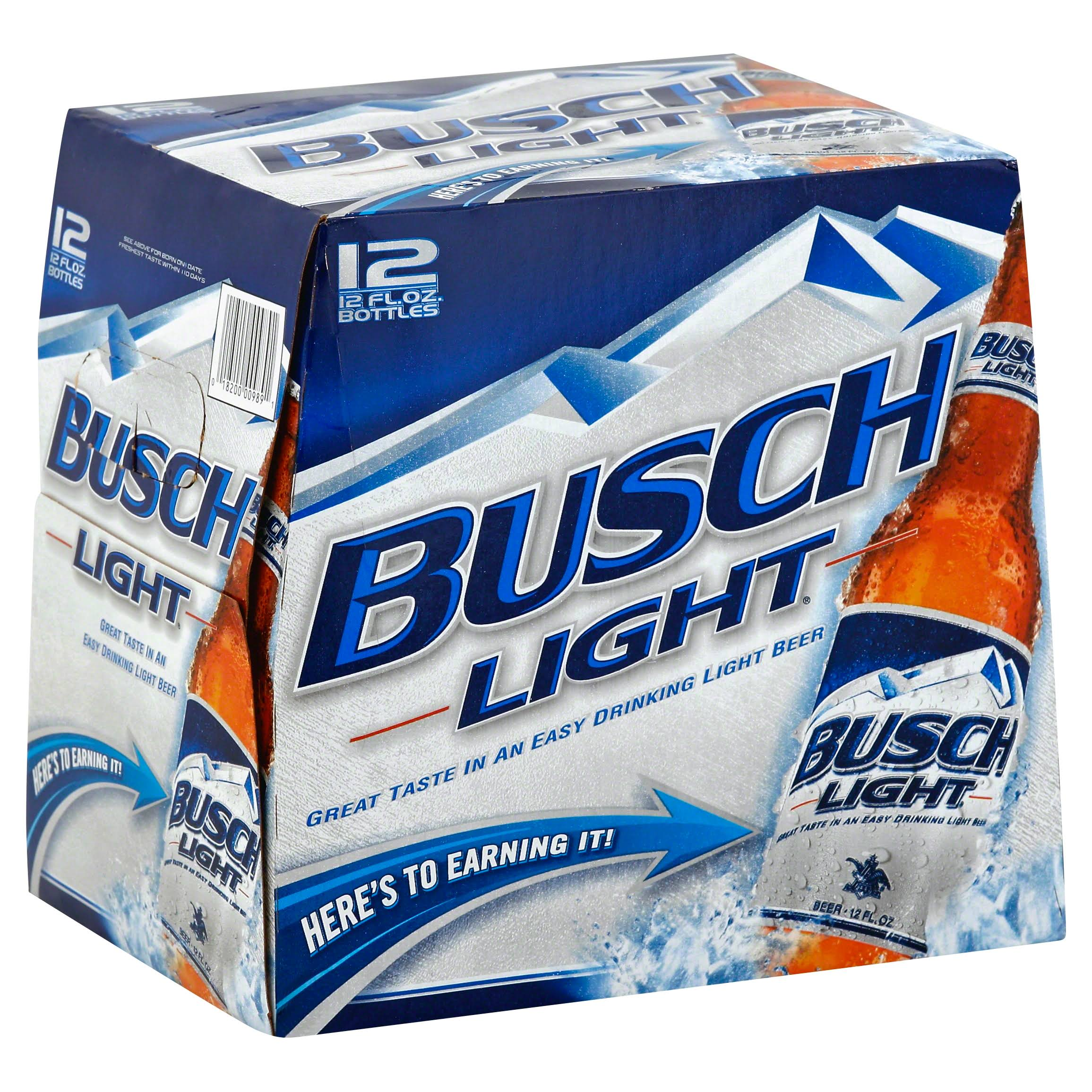 Busch Light Beer - 12 pk, 12 oz
